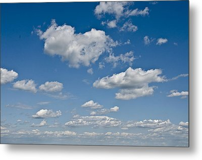 Beautiful Skies Metal Print by Bill Cannon