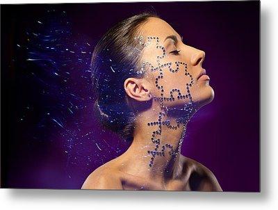 Beauty Puzzles Metal Print by Pavlo Kolotenko
