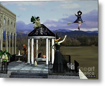 Before Dorothy Came To Oz Metal Print by Methune Hively