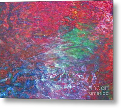Belief In Cool Fire Metal Print by Sybil Staples