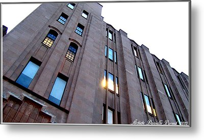 Bell Building Metal Print by Danielle  Parent