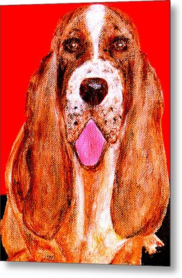 Benny Boy Metal Print by Forartsake Studio
