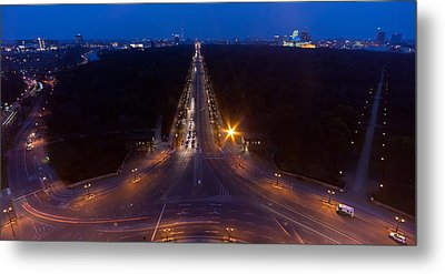 Berlin From The Siegessaule  Metal Print by Mike Reid