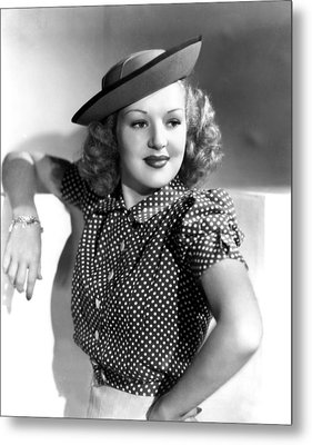 Betty Grable, Paramount Pictures, Late Metal Print by Everett