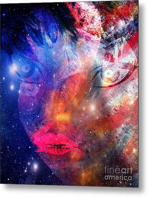 Between Me - Passion And Time Metal Print by Fania Simon