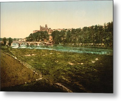 Beziers - France Metal Print by International  Images