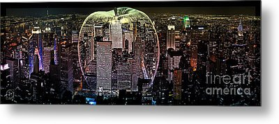 Big Apple Metal Print by The DigArtisT