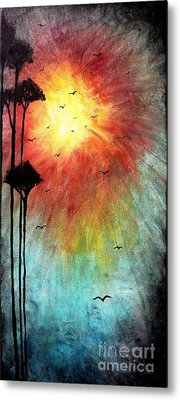 Birds Of The Sun Metal Print by Michael Grubb