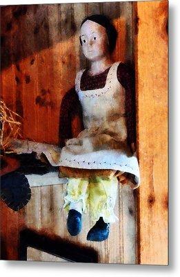 Bisque Doll Metal Print by Susan Savad