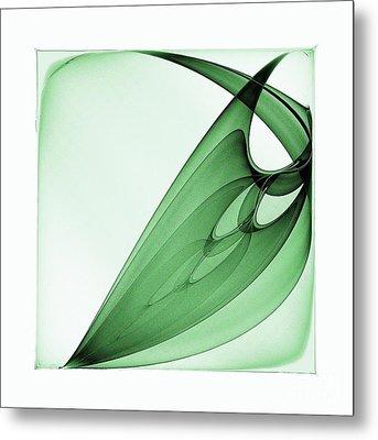 Bizarre Leaf Metal Print by Klara Acel