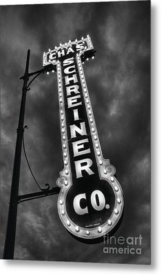 Black And Light Metal Print by Ken Williams