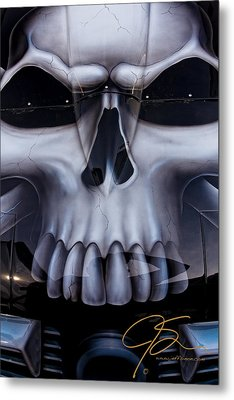 Blank Stare Metal Print by Jeff Sinon