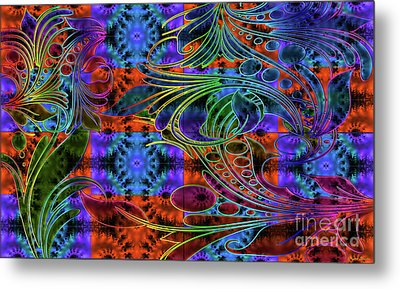Bleeding Rainbow Metal Print by Clayton Bruster