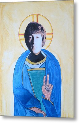 Blessed John Metal Print by Philip Atkinson