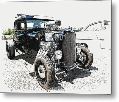 Blown Coupe Metal Print by Steve McKinzie
