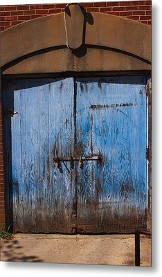 Blue Doors Metal Print by Bob Whitt