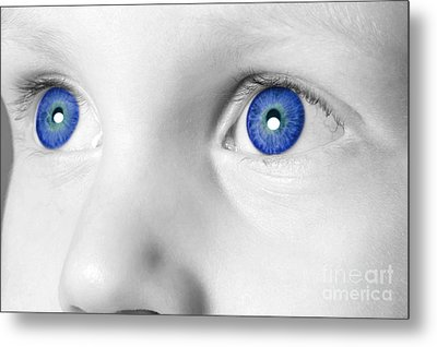 Blue Eyed Boy Metal Print by Richard Thomas