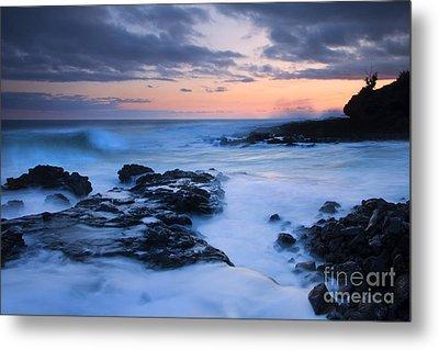 Blue Hawaii Sunset Metal Print by Mike  Dawson
