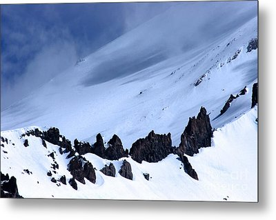 Blue Mountain Winds Metal Print by Tap  On Photo