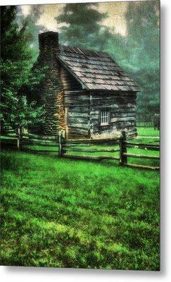 Blue Ridge Cabin Metal Print by Darren Fisher