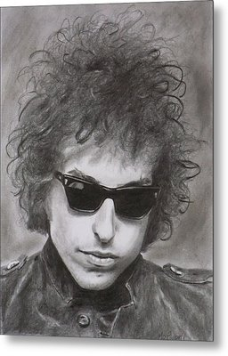 Bob Dylan Metal Print by Mike OConnell