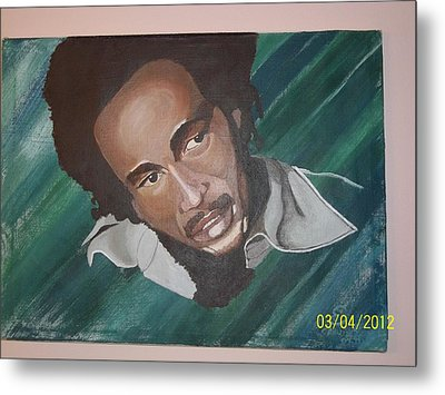 Bob Marley 2011 Metal Print by Elaine Holloway