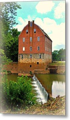 Bollinger Mill Metal Print by Marty Koch