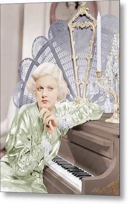 Bombshell, Jean Harlow, 1933 Metal Print by Everett