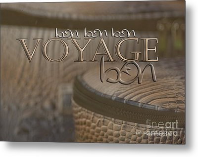 Bon Voyage Metal Print by Vicki Ferrari Photography