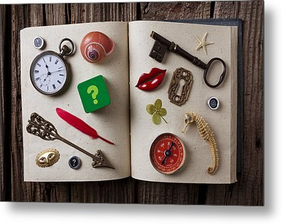 Book Of Secrets Metal Print by Garry Gay