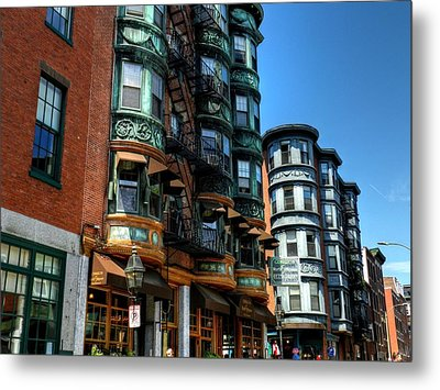 Boston 017 Metal Print by Lance Vaughn