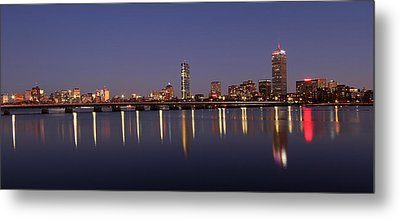 Boston Panoramic View Metal Print by Juergen Roth