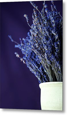 Bouquet Of Lavender Metal Print by HD Connelly