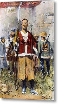 Boxer Rebellion, 1900 Metal Print by Granger