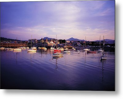 Bray Harbour, Co Wicklow, Ireland Metal Print by The Irish Image Collection