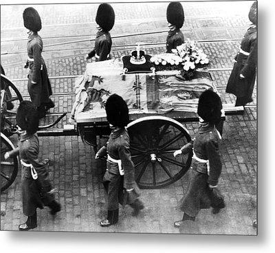 British Royal Family. Procession Metal Print by Everett