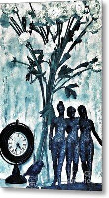 Bronze Still Life Metal Print by Marsha Heiken