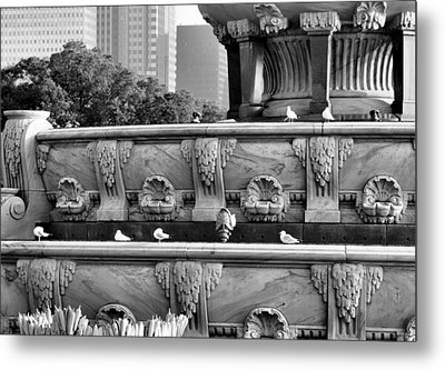 Buckingham Fountain - 5 Metal Print by Ely Arsha