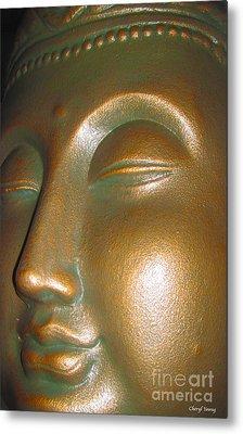Buddha 25 Metal Print by Cheryl Young
