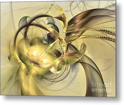 Budding Fruit - Abstract Art Metal Print by Abstract art prints by Sipo
