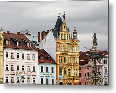 Budweis - Pearl Of Bohemia - Czech Republic Metal Print by Christine Till