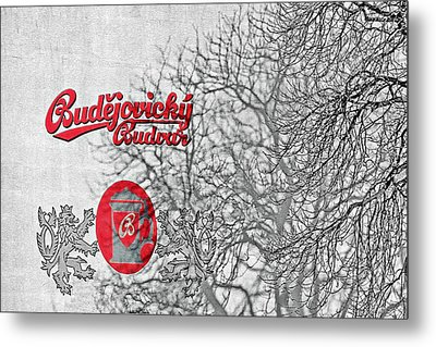 Budweis Czech Republic - 700 Years Of Brewing Tradition Metal Print by Christine Till
