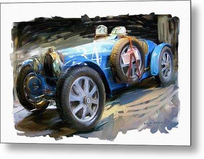 Bugatti Roadster Metal Print by RG McMahon