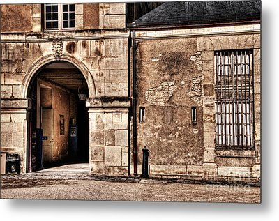 Building In France Metal Print by Charuhas Images