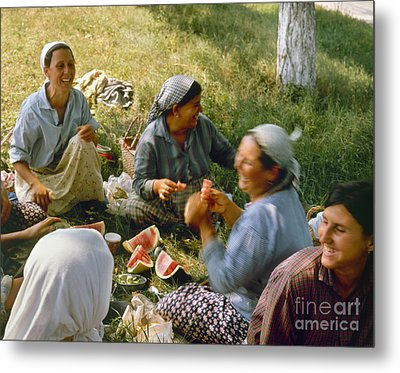 Bulgaria: Peasants Metal Print by Granger
