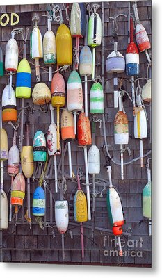 Buoy Oh Boy Metal Print by Adele Pfenninger