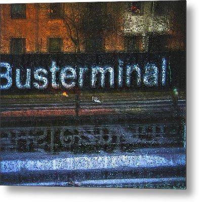 Busterminal Metal Print by Odd Jeppesen