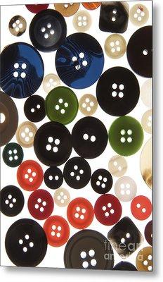 Buttons Metal Print by Bernard Jaubert
