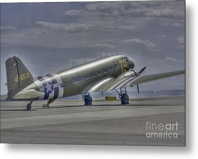 C-47 Skytrain Metal Print by David Bearden