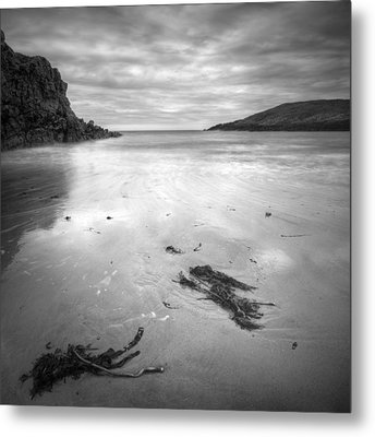Cable Bay On Anglesey Metal Print by Andy Astbury